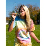 Spiral Tie Dye Short Sleeve T-Shirt