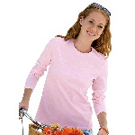 Womens Long Sleeve Relaxed Fit T-Shirt