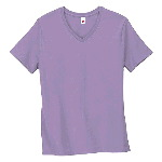 Womens Relaxed Fit Jersey V-Neck Tee