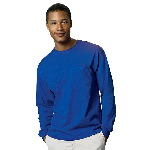 Mens TAGLESS® Long Sleeve T-Shirt with Pocket