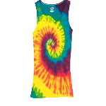 Tie Dye Boy Beater Tank Tops