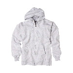 Mens Ultimate Cotton Full-Zip Hooded Sweatshirt