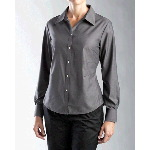Ladies L/S Epic Easy Care Royal Oxford Shirt