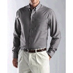 Big & Tall Mens L/S Epic Easy Care Royal Oxford Shirt