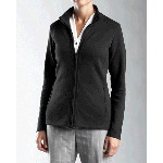 Ladies Journey Supima� Flat Back Rib Knit Full Zip Shirt-Jacket