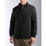Mens Journey Supima® Flatback Half Zip Knit Shirt-Jacket