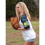 Softball Theme T Shirt