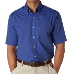 Men�s Classic Short-Sleeve Oxford