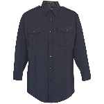 Mens Washable Poly/Wool Long Sleeve Shirt