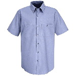 Mens Short Sleeve Industrial Shirt