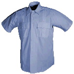 Mens Poly/Cotton Short Sleeve Shirt