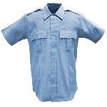 Mens 100% Poly Short Sleeve Shirt