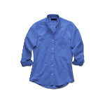 Ladies Long Sleeve Wrinkle Free Oxford