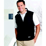 Microfiber Full Zip Vest