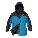 Womans Five-In-One Parka