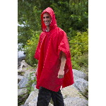 Mens Packable Rain Pancho