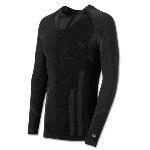 Mens Varitherm Mid-Weight Seamless Long Sleeve Crew