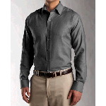 Mens Long Sleeve Epic Easy Care Wrinkle Free Dobby Shirt