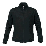 Womans Pima Full-Zip Mock Neck Jacket