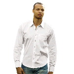 Mens Slim-Fit Button Shirt