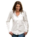 Womans Slim-Fit Button Shirt