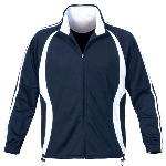 Mens Full-Zip Knit Training Jacket