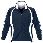 Mens Full-Zip Knit Training Jacket
