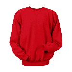 Adult 9.5-oz. Cotton/Poly Blend Crewneck Sweatshirt