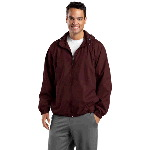 Adult Hooded Raglan Jacket