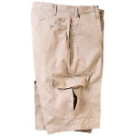 "Mens 13"" Loose Fit 100% Cotton Cargo Short"