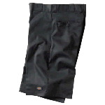 "Mens 13"" Loose Fit Flat Front Work Short"