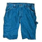"Mens 9 1/2"" Relaxed Fit Stone Washed Carpenter Short"