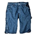 "Mens 11"" Relaxed Fit Carpenter Short, Denim"