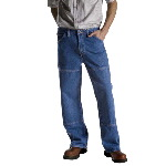 Mens Relaxed Fit Workhorse Jean - Stone Washed