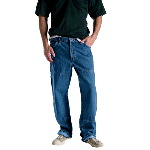 Mens Relaxed Fit Double Knee Carpenter Jean