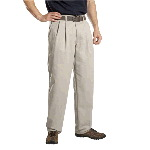 Mens Premium Cotton Pleated Front Pant