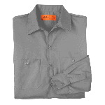 Mens Premium Long Sleeve Industrial Work Shirt