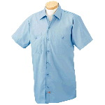 Mens Premium Short Sleeve Industrial Work Shirt