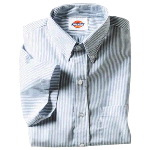 Mens Short Sleeve Button Down Oxford Shirt