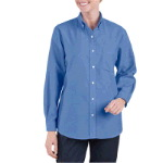 Womens Button Down Oxford Shirt - Long Sleeve