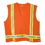 High Visibility Class 1 Tri-Color Mesh Vest