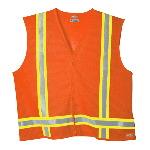 High Visibility Class 1 Tri-Color Mesh Vest