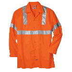 High Visibility Class 2 Long Sleeve Work Shirt