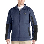 Mens Storm Fleece� Zip Front Jacket