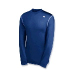Mens Double Dry® Competitor Long Sleeve Compression Tee