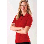 Womens Hastings-W Jacquard Mesh Polo