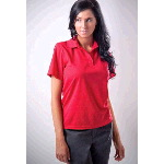 Womens Newport-W Polyester Mesh Polo