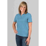 Dri-Balance Womens Insect Shield® Meshback-W Polo