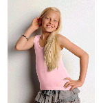 Girls 1x1 Rib Tank Top