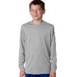 Youth B-Dry Core Long Sleeve Performance Tee